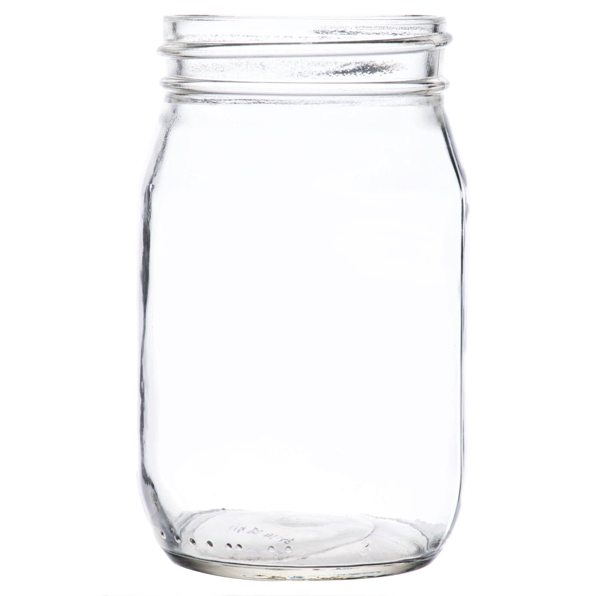 Old fashioned glass jars 58